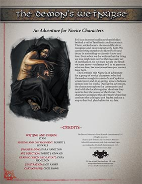 Demon's Wet Nurse: Novice Adventure