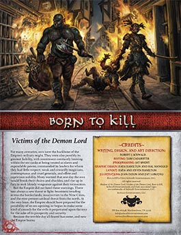 Born to Kill: Victims of the Demon Lord