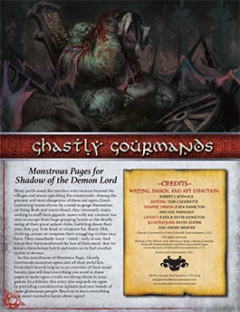 Ghastly Gourmands: Monstrous Pages