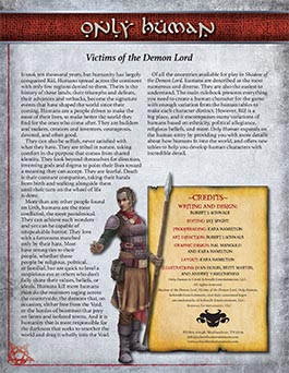 Only Human: Victims of the Demon Lord