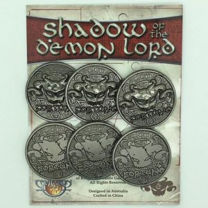 Shadow of the Demon Lord Role Playing Game Fortune Tokens