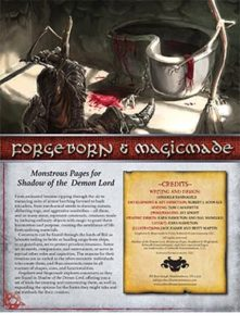 Forgeborn and Magicmade: Monstrous Pages
