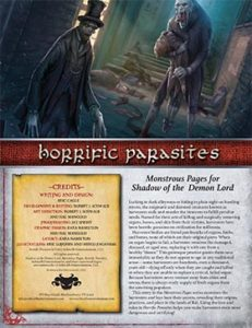 Horrific Parasites: Monstrous Pages