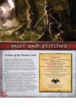 Snot and Stitches: Victims of the Demon Lord