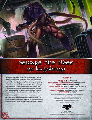 Beware the Tides of Karshoon