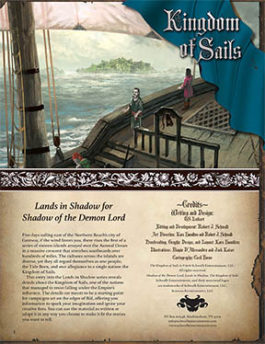 Kingdom of Sails: Lands in Shadow
