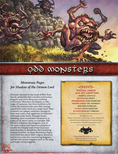 Odd Monsters: Monstrous Pages