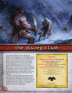 Slaver's Lash: A Starting Adventure for Shadow of the Demon Lord RPG