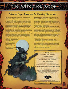 Witching Wood: A Demon Lord Adventure for Starting Characters