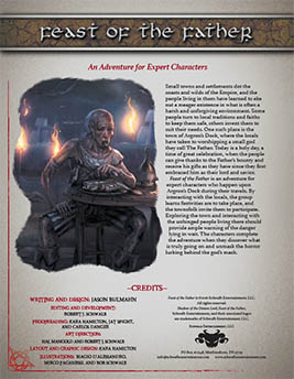 Feast of the Father: An Adventure for Expert Characters