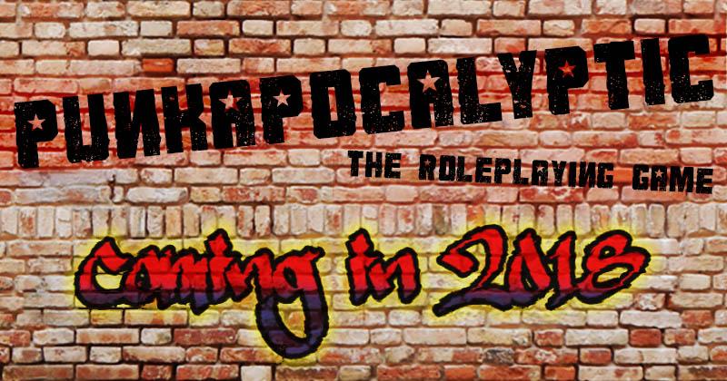 PunkApocalypse RPG: Coming Soon!