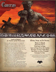 Caecras: Lands in Shadow
