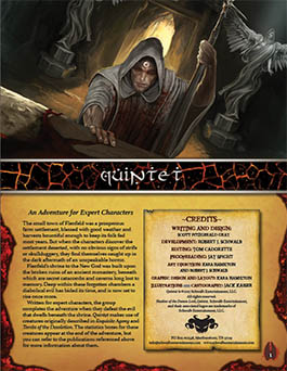Quintet: An Expert Adventure for Shadow of the Demon Lord RPG