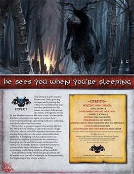 He Sees You When You're Sleeping-Krampus: An Expert Adventure