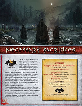 Necessary Sacrifices: A Novice Adventure for Shadow of the Demon Lord RPG