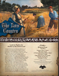 Low Country: Lands in Shadow for Shadow of the Demon Lord