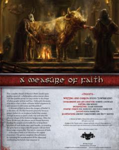 A Measure of Faith