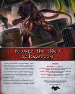 Beware the Tides of Karshoon