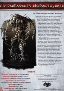 The Darkness In Shadowturrets
