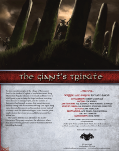 The Giant's Tribute