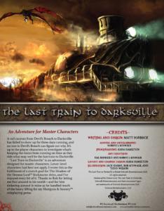 The Last Train to Darksville