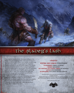 The Slaver's Lash