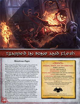 Trapped in Flesh and Bone | Monstrous Pages | Shadow of the Demon Lord RPG