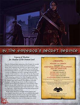 Emperor's Secret Service: Legacy of Shadow