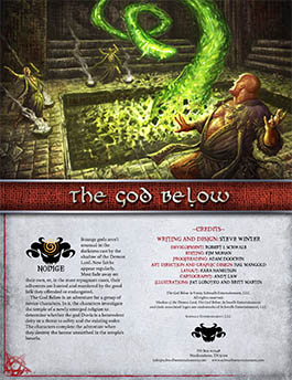 God Below: A Novice Adventure for Shadow of the Demon Lord