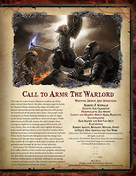 Call to Arms: The Warlock -- 5th Edition D&D Supplement