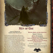 Men of Gog: Legacy of Shadow for Shadow of the Demon Lord RPG