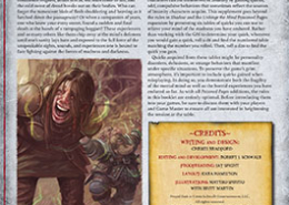 Frayed Ends | Poisoned Pages | Shadow of the Demon Lord RPG