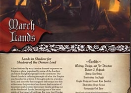 March Lands | Lands in Shadow