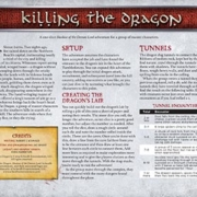 Killing the Dragon | Adventure for Master Characters | Shadow of the Demon Lord RPG