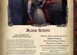 Blood Scions - Shadow of the Demon Lord