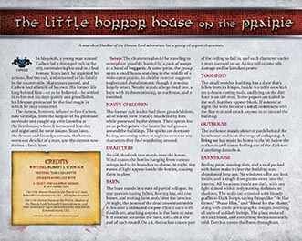 Little Horror House on the Prairie | Schwalb Entertainment