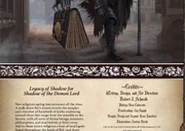 Cult of the Cog God | Legacy of Shadow | Shadow of the Demon Lord RPG