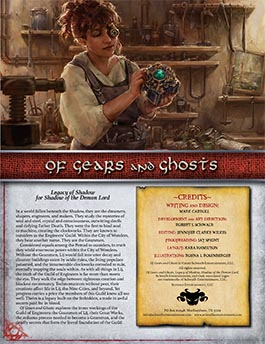 Of Gears and Ghosts | Legacy of Shadow for Shadow of the Demon Lord RPG
