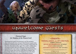 Unwelcome Guests | Poisoned Pages for Shadow of the Demon Lord RPG
