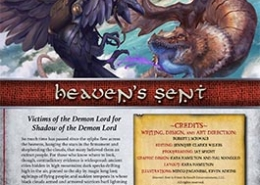 Heavens Sent | Victims of the Demon Lord for Shadow of the Demon Lord RPG