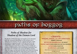Paths of Horror | Paths of Shadow for Shadow of the Demon Lord