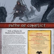 Paths of Conflict   Paths of Shadow for Shadow of the Demon Lord